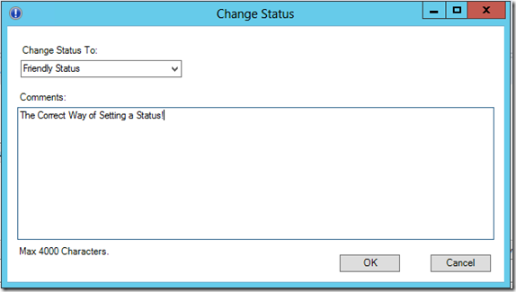 SCSM Incident Change Status task the correct way! V2